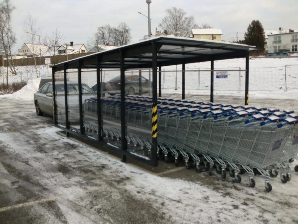 Kundvagnsgarage 3