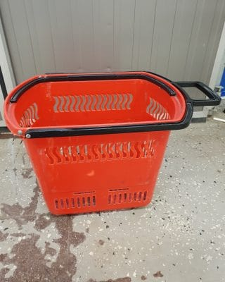 Kundkorg begagnad 45 liter