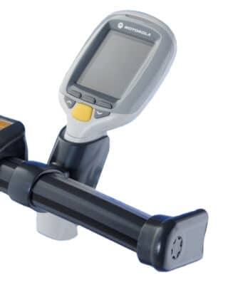 Scannerhållare kundvagn
