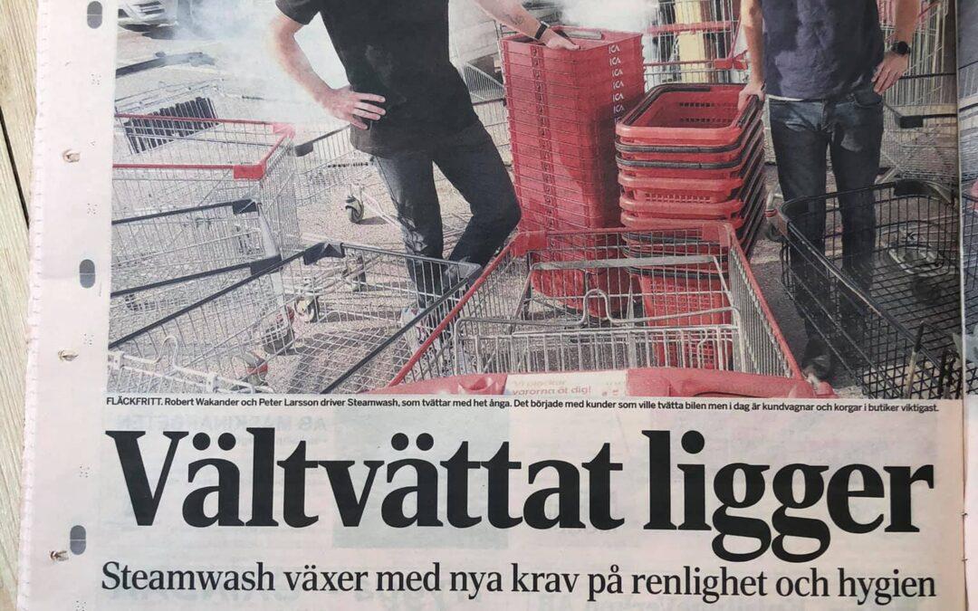 Dagens Industri SteamWash Sverige AB
